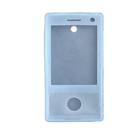 Unique Bargains Silicone Blue Protective Case for HTC Touch Diamond