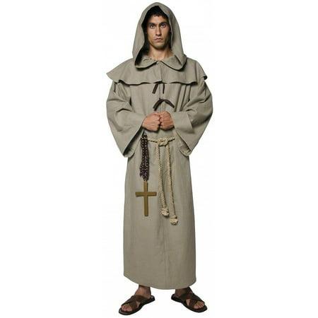 Friar Tuck Adult Costume - (Children's Friar Tuck Costume)