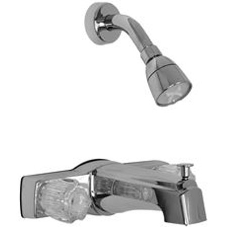 Proplus Bathtub And Shower Faucet With Diverter And Non-Metallic Waterways
