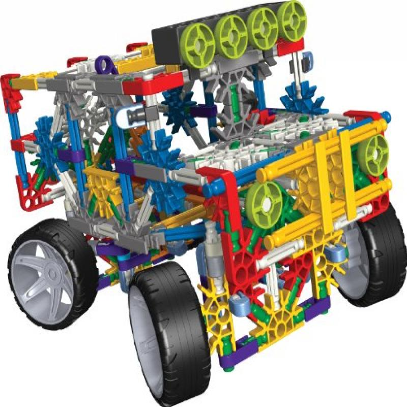 Knex 4 Wheel Drive Truck Building Set