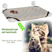 Cat Sunny Seat Window Perch Bed Hanging Shelf Seat Pet Cat  Cot With 4 Suckers up to 44bls  KRGL