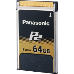 Panasonic 64GB F-Series P2 Memory Card