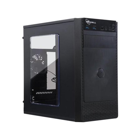 Rosewill (FBM-X1) FBM-X1 Black Steel / Plastic ATX Mini Tower Computer Case