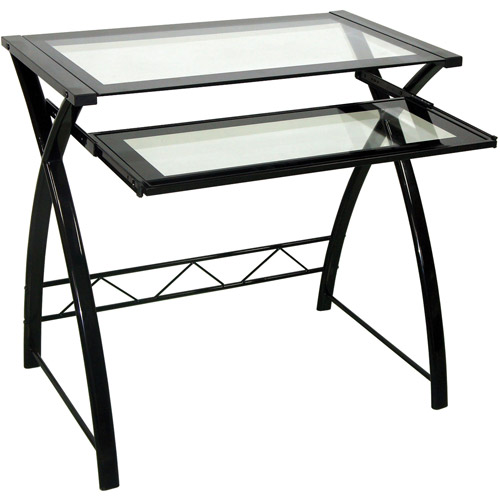 Bell'O Computer Desk, Black Finish
