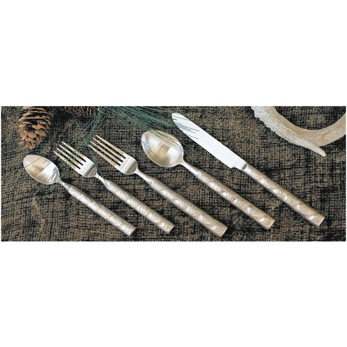 West Creation 20 Piece Wilderness Flatware Set