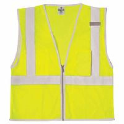 Brilliant Series Class 2 Economy Vest, 3X-Large, Lime