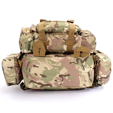 50L Men 3D Molle Assault Tactical Military Rucksack Backpack Outdoor Camping Bag - image 3 of 5