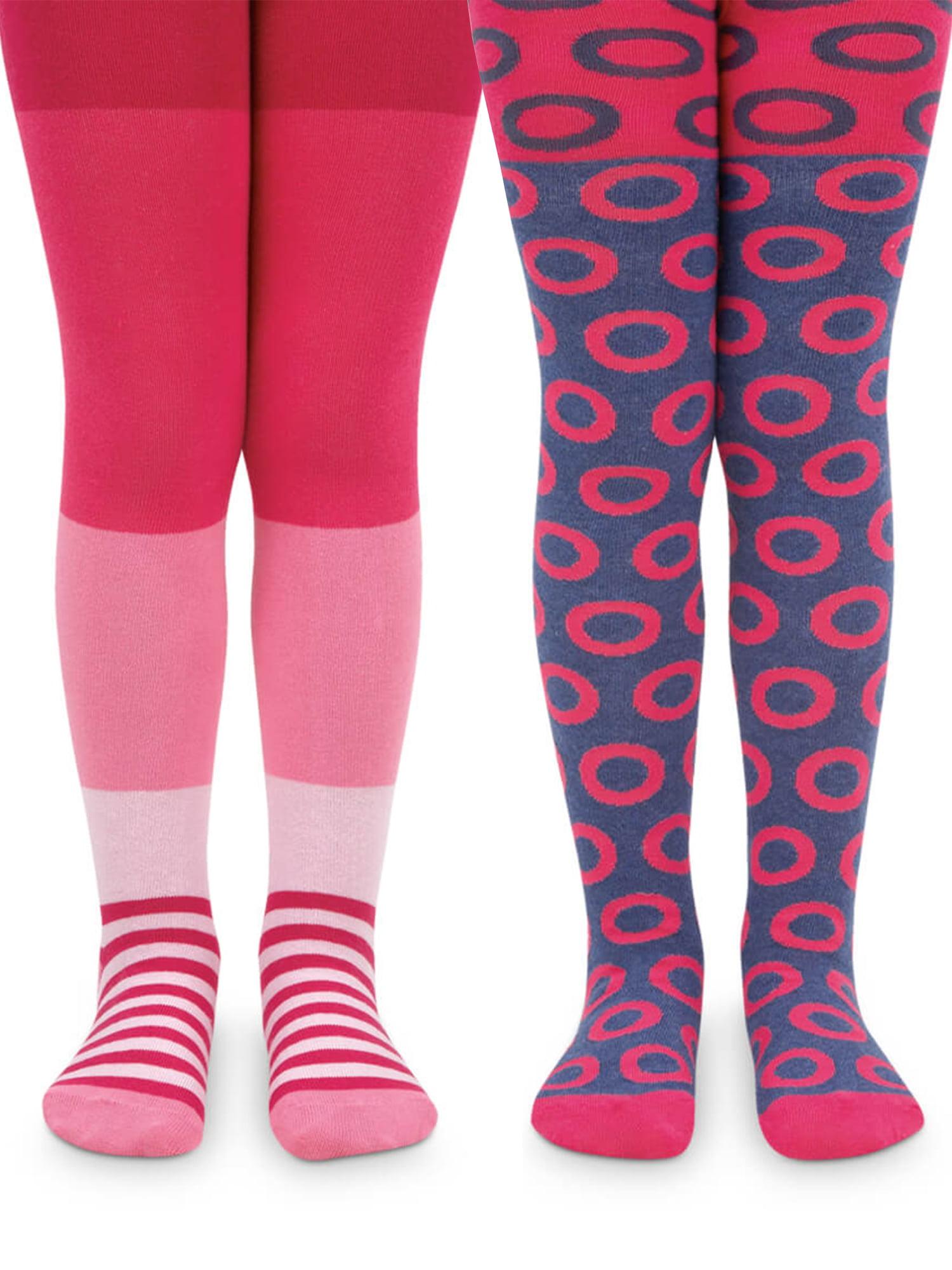 Ladies 5 Pack Socks Stripes Design Dots Black Socks Flowers Cotton Rich Size 4-8