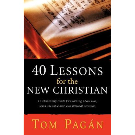 40 Lessons for the New Christian - Christian Lesson For Halloween