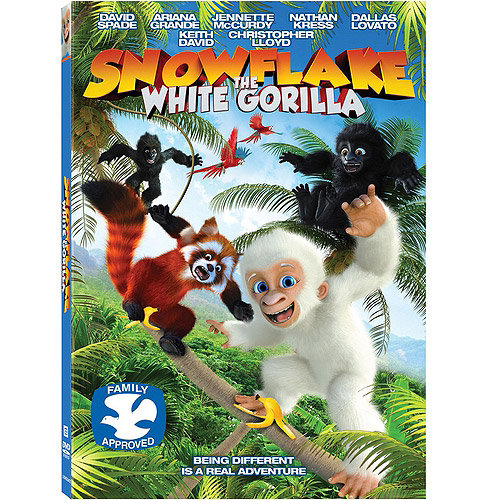 Snowflake: The White Gorilla (DVD   VUDU Digital Copy) (Walmart Exclusive) (With INSTAWATCH) (Widescreen)