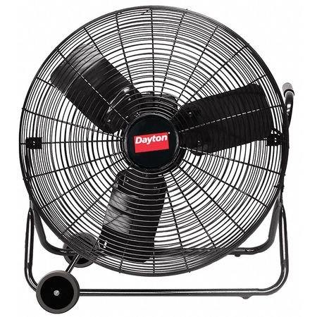 DAYTON Quiet Design AirCirc,24 In,5030 cfm,115V 6AGY9 Designer Supreme Large Fan