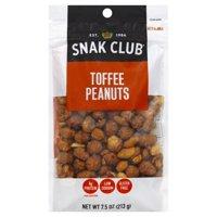 Snak Club Toffee Peanuts Premium Pack, 7.50 Oz.