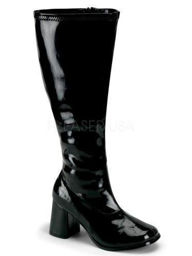 GOGO300X/B Funtasma Plus Sizes & Wide Width/Shaft Shoes BLACK Size: 7