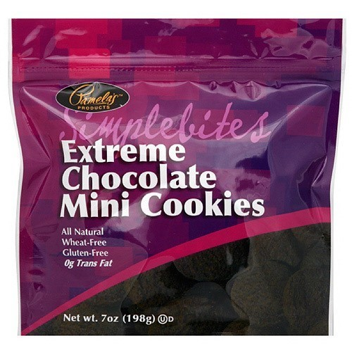 Pamela's Products Extreme Chocolate Mini Cookies, 7 oz (Pack of 6)