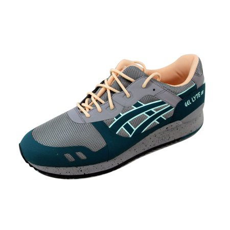 competitive price 9273d 49449 Asics Gel Lyte III NS Aluminum/Deep Teal H714N 9658 Men's Size 8