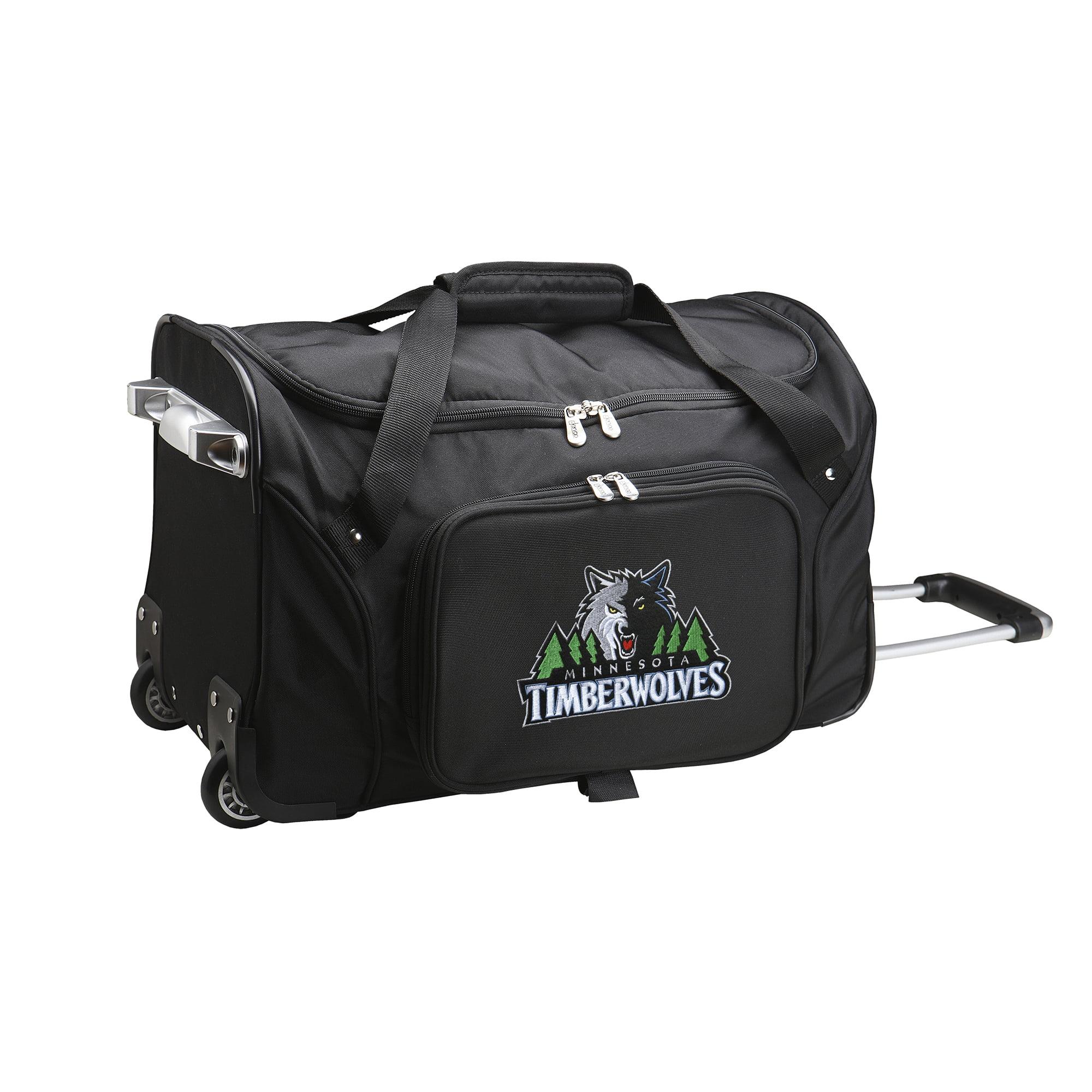 "Minnesota Timberwolves 22"" 2-Wheeled Duffel Bag - Black - No Size"