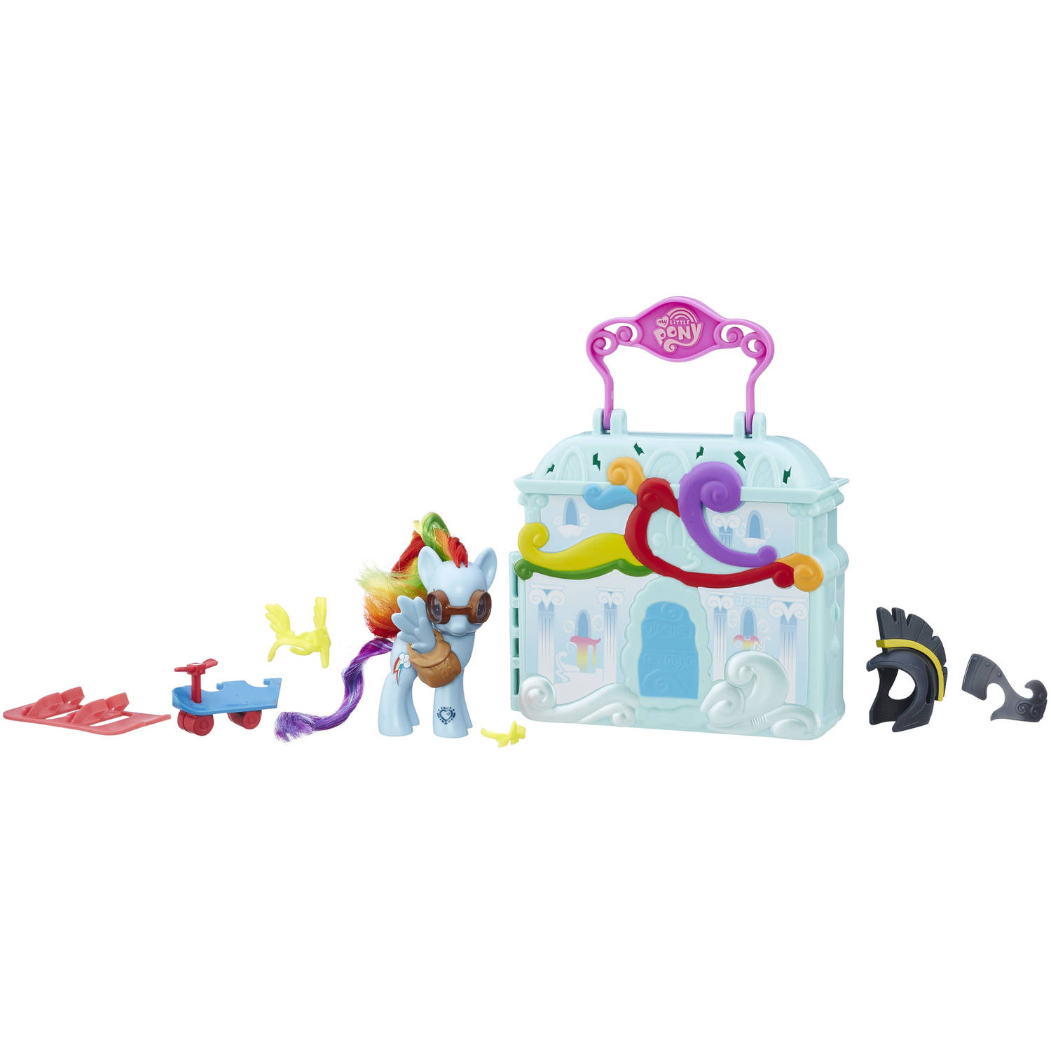 My Little Pony Friendship is Magic Rainbow Dash Cloudominium Playset by Hasbro