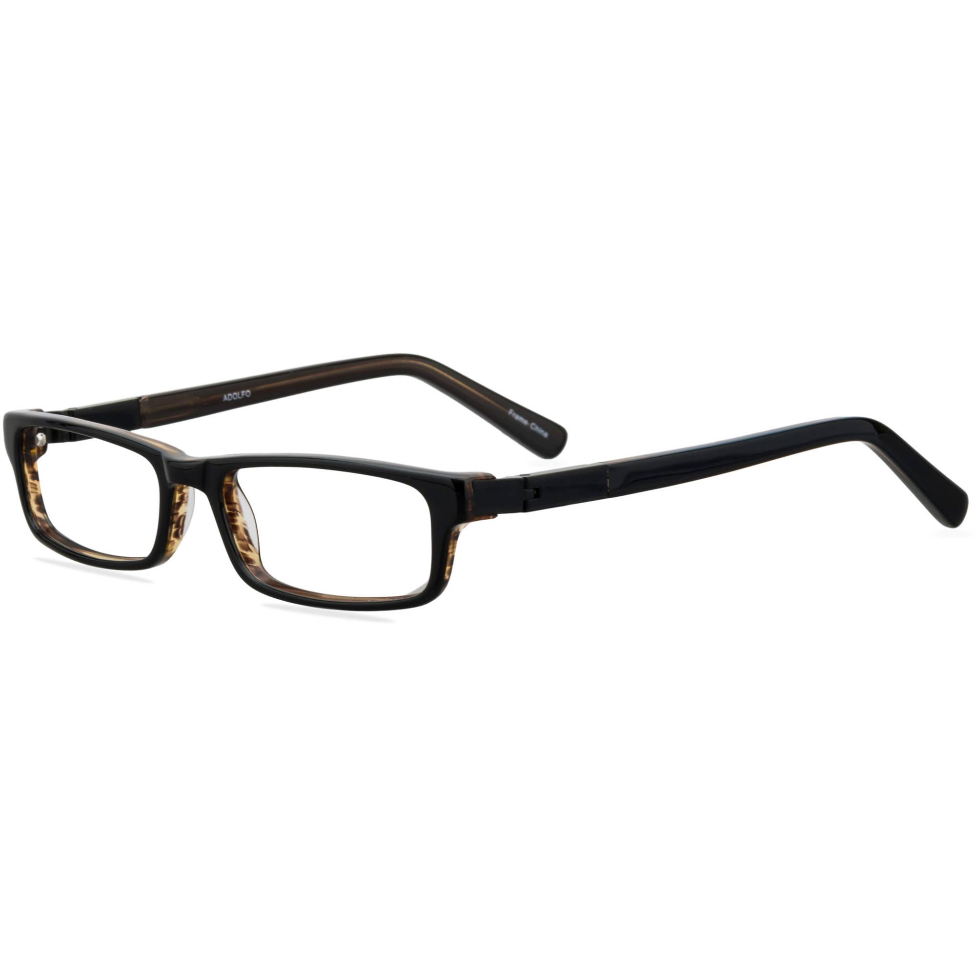 Image of ADOLFO Boys Prescription Glasses, Goalkeeper Black Amber