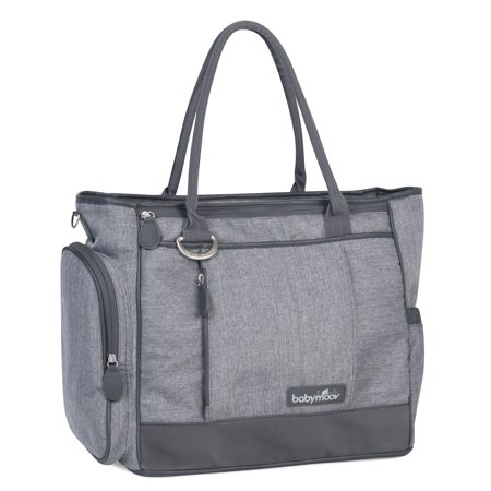 1f59ef72f Babymoov Trendy Diaper Tote Bag with 5 Accessories - Walmart.com