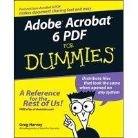 For Dummies: Adobe Acrobat 6 PDF for Dummies (Paperback)