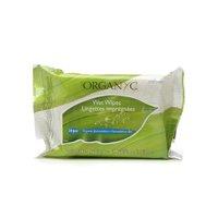 Organyc 0832469 Intimate Hygiene Wet Wipes, Pack of 20