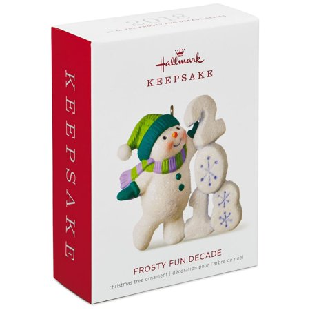 Hallmark Keepsake 2018 Frosty Fun Decade Ornament (Frostys Favorite Ornament)