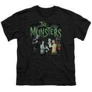 trevco the munsters 1313 50 years big boys shirt black xl