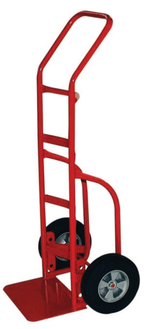 Heavy Duty Hand Trucks with Flow Back Handle, 800 lbs Cap., Solid Rubber Wheels by Milwaukee Hand Trucks