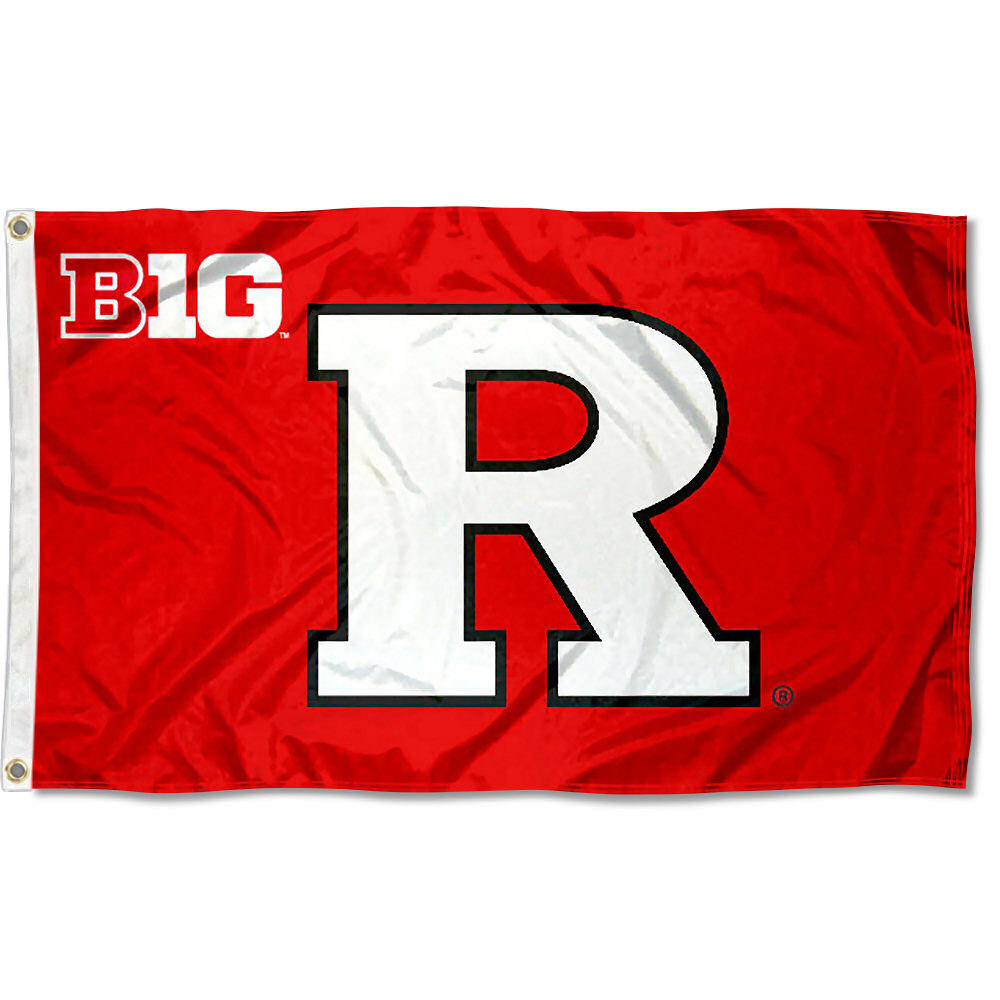 Rutgers Scarlet Knights Big 10 3' x 5' Pole Flag