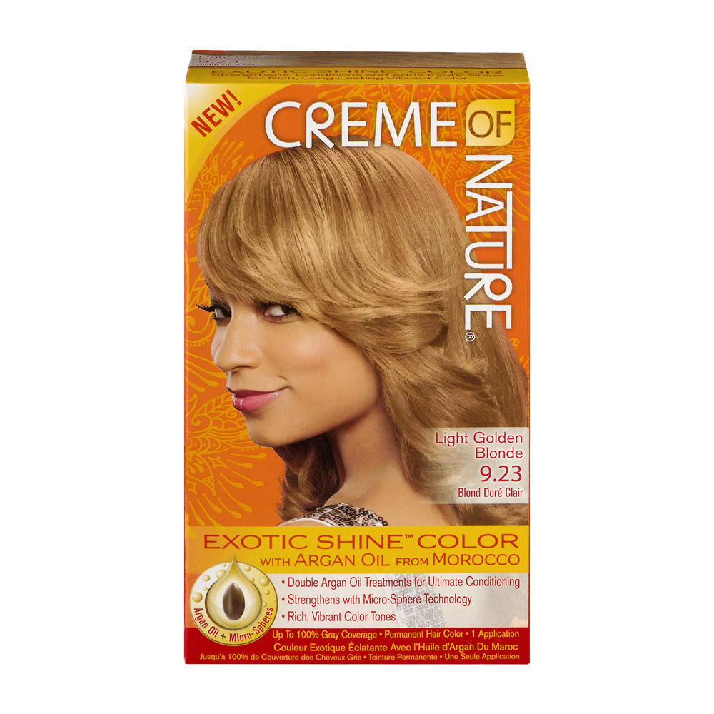 Creme Of Nature Exotic Shine Color Intensive Red 7 6 Permanent Hair 1 Lication