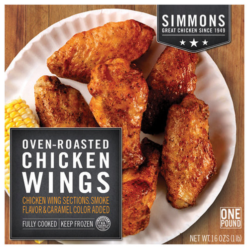 Simmons Oven Roasted Chicken Wings 16 Oz Walmart Com