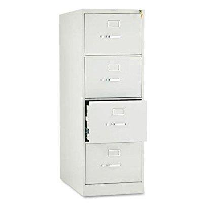 hon 214cpq 210 series 28-1/2-inch 4-drawer full-suspension legal file, light gray