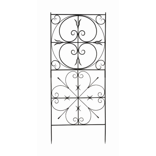 Achla VFT-22 Garden Aldrich Trellis Graphite Powdercoat by Achla Designs