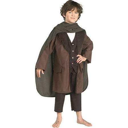 Halloween Frodo Child Costume Lord of the Rings Child Costume (Lord Of The Rings Ringwraith Costume)