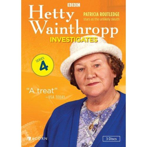 Hetty Wainthropp Investigates: Series 4 (Full Frame)