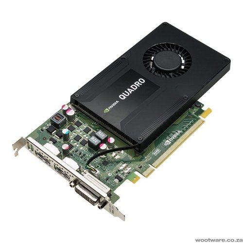 PNY NVIDIA Quadro K2200 4GB GDDR5 PCI Express 2.0 Workstation Video Card
