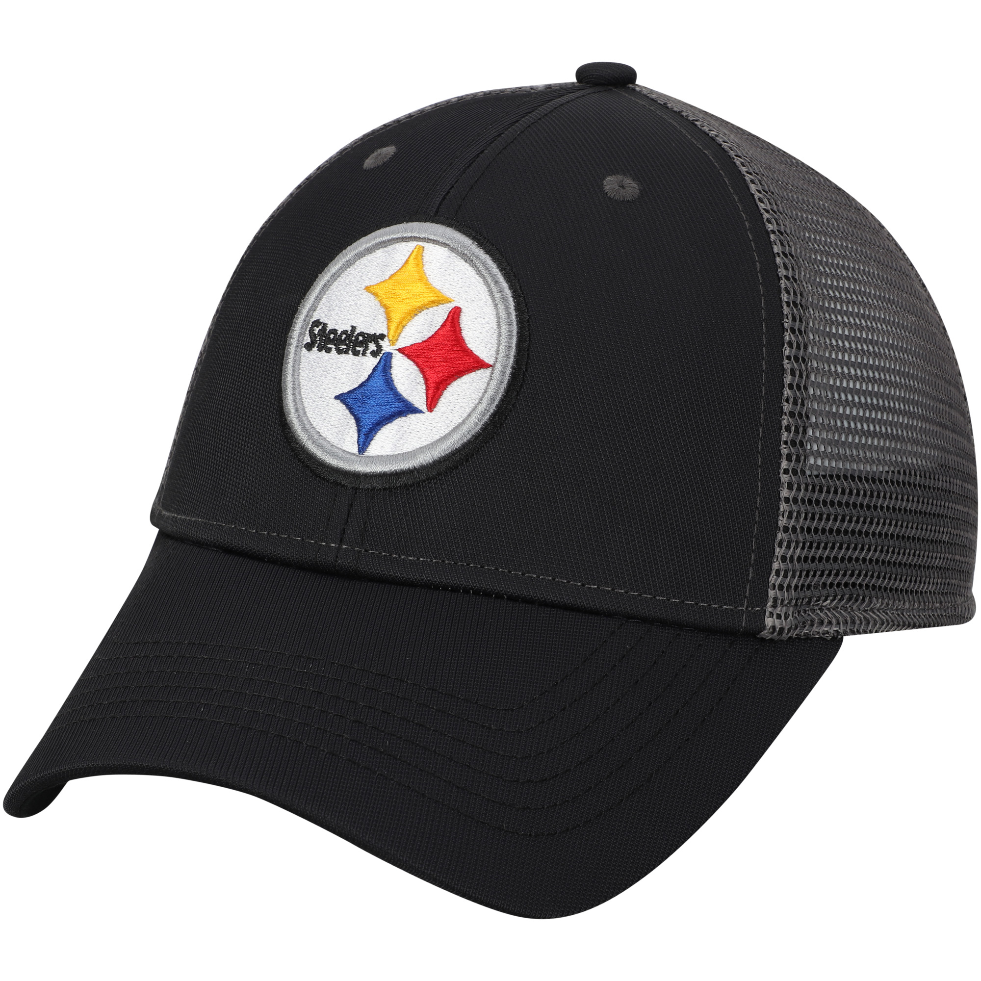 Men's Black Pittsburgh Steelers Explore Adjustable Hat - OSFA