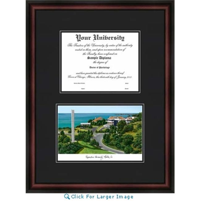 Campus Images CA944D Pepperdine University Diplomate Lithograph Frame