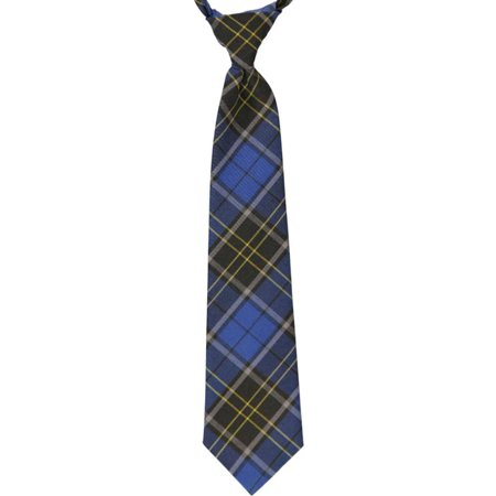 Cookie's Brand Adjustable Banded Necktie with Clip