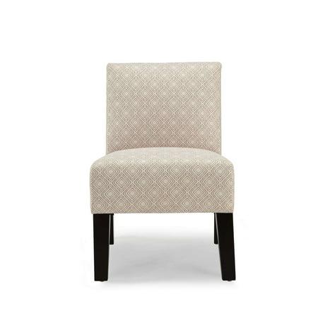 Upholstered Accent Chair (DHI Allegro Gigi Upholstered Accent Chair, Multiple Colors)