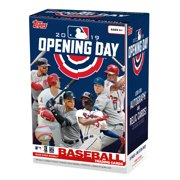 2019 TOPPS MLB OPENING DAY BASEBALL VALUE BOX  LOOK FOR AUTOGRAGHS AND RELIC CARDS!   77 CARDS TOTAL