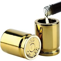 50 Caliber Bullet Casing 2oz Shot Glasses | Set of 2