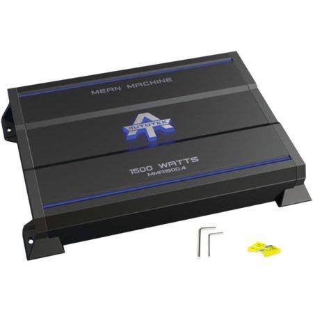 New Autotek MMA1500 4 1500 Watt 4 Channel Amplifier Mean