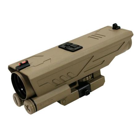 Ncstar Delta 4X30mm Scope P4 Sniper Reticle  Green Lens