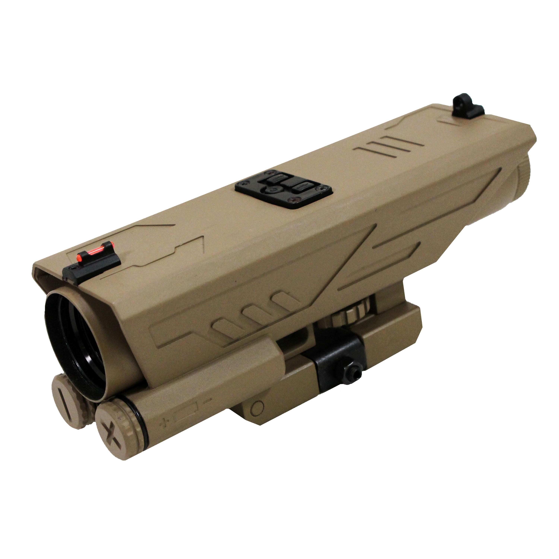 NcStar Delta 4x30mm Scope P4 Sniper Reticle, Green Lens