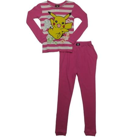 Pokemon Girls Piccachu Charmander Bulbasaur Long Johns Underwear Base Layer](Pokemon Misty Underwear)