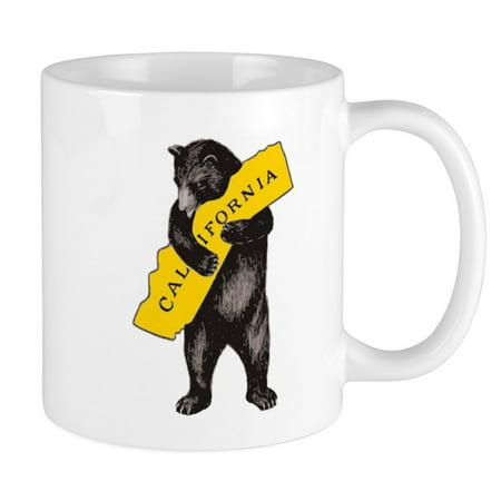 CafePress - Vintage California Bear Hug Illustration Mugs - Unique Coffee Mug, Coffee Cup CafePress (Mug California)