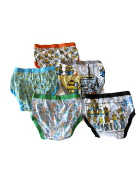 Handcraft Little Boys' Despicable Me Brief (Pack of 5)