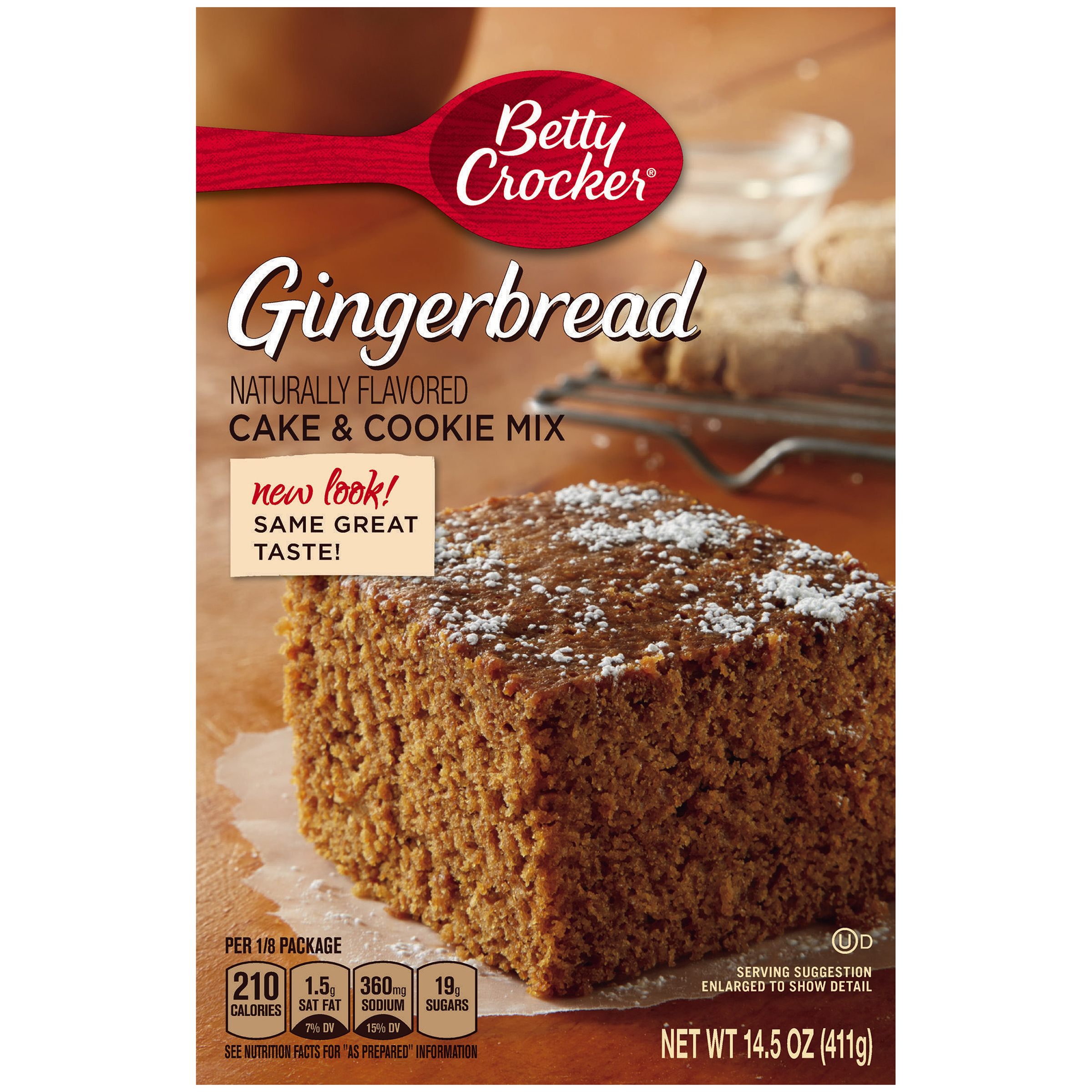 Betty Crocker Cake & Cookie Mix Gingerbread 14.5 oz Box