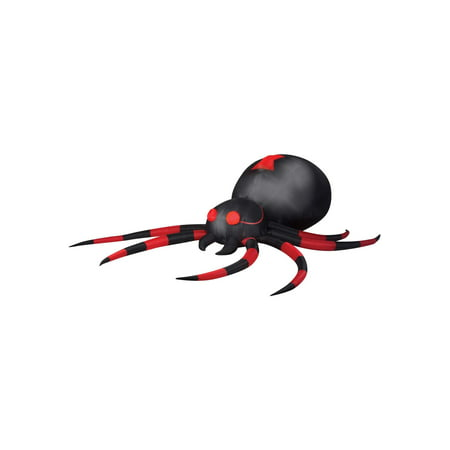 Inflatable Black Widow Spider Decoration](Inflatable Halloween Spider)